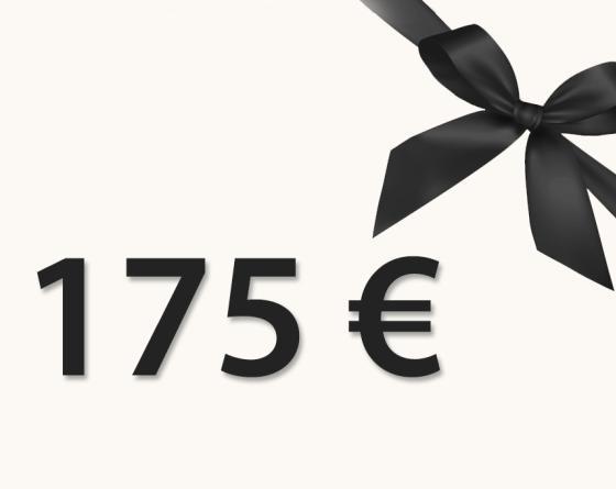 CHÈQUE CADEAU 175€