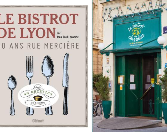 BISTROT DU PALAIS COFFRET SAVEURS + LIVRE LE BISTROT DE LYON