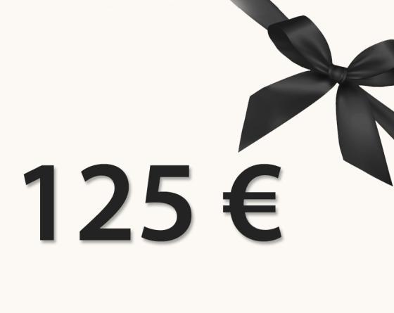 CHÈQUE CADEAU 125€